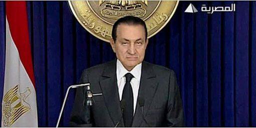 Mubarak Staying