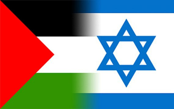Israel Palestine Flags