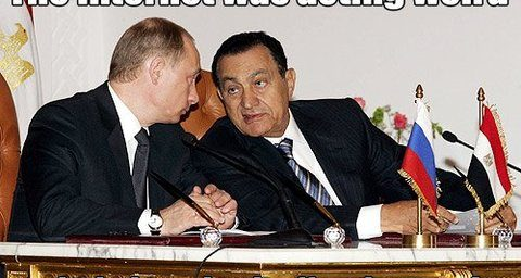Mubarak to Putin Internet Was Acting Weird So I Tried Turning It Off and on again