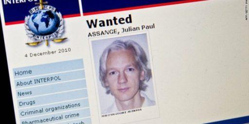 Julian Assange Seeking Asylum From Ecuador