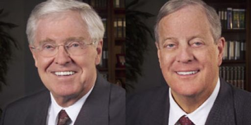 We Must Stop Those Evil Koch Brothers From Helping Expand Individual Liberty