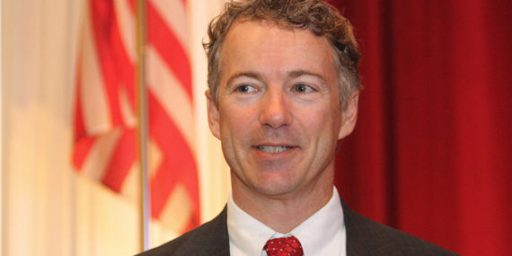 Rand Paul Contrasts Henry Clay, Abolitionists, In Maiden Senate Speech