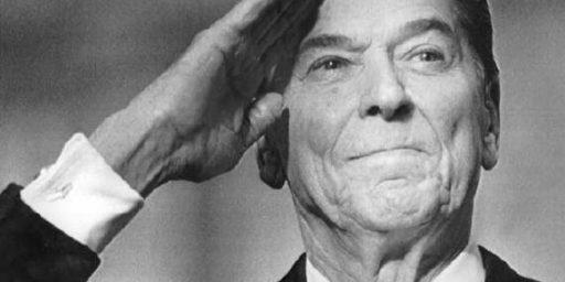 Ronald Reagan America's Greatest President?