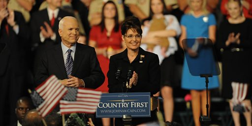 Sarah Palin: An Affirmative Action Pick For Vice-President