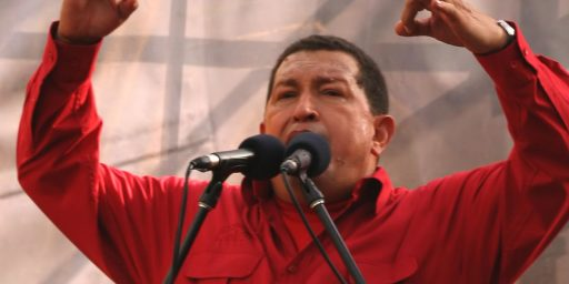 What's up with Chávez?