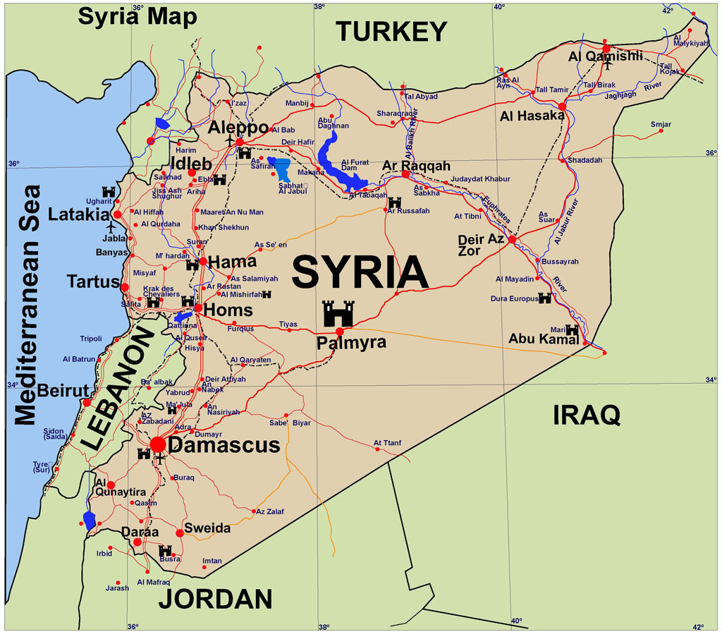 Syria-Guide-Map