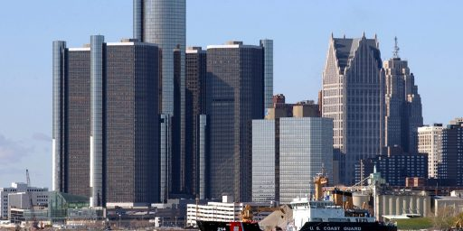 Detroit Population Fell 25% In Ten Years