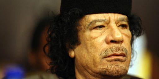 Prosecutor Seeks ICC Warrant for Gaddafi