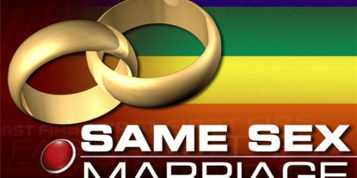 Another Poll Shows Majority Support For Same-Sex Marriage
