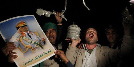 Libya Coalition Politics
