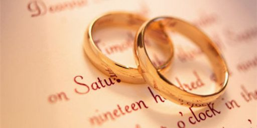 Statistic Of The Day: Same-Sex Marriage Makes Marriage Stronger