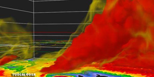 Image Of The Day: Tuscaloosa Tornado Edition