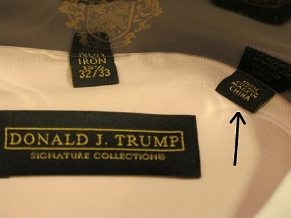 Where Is Donald Trump S Clothing Line Made