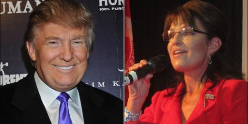 What Do Donald Trump And Sarah Palin Have In Common? 60% Of Americans Would Never Vote For Them