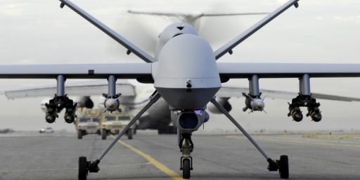 Drone War Discussion Absent from Campaign