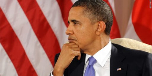 Obama Hits All-Time Job Approval Low In Gallup Poll