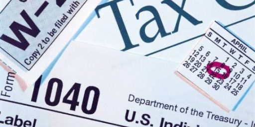 Federal Taxes At Lowest Rate Since 1950