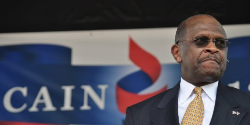 Cain Denies Sexual Harassment Allegations But Questions Remain