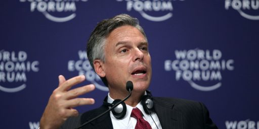 Jon Huntsman Heads To New Hampshire