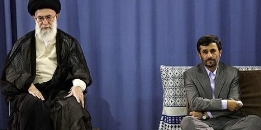 Ahmadinejad Out Of Favor With The Mullahs?
