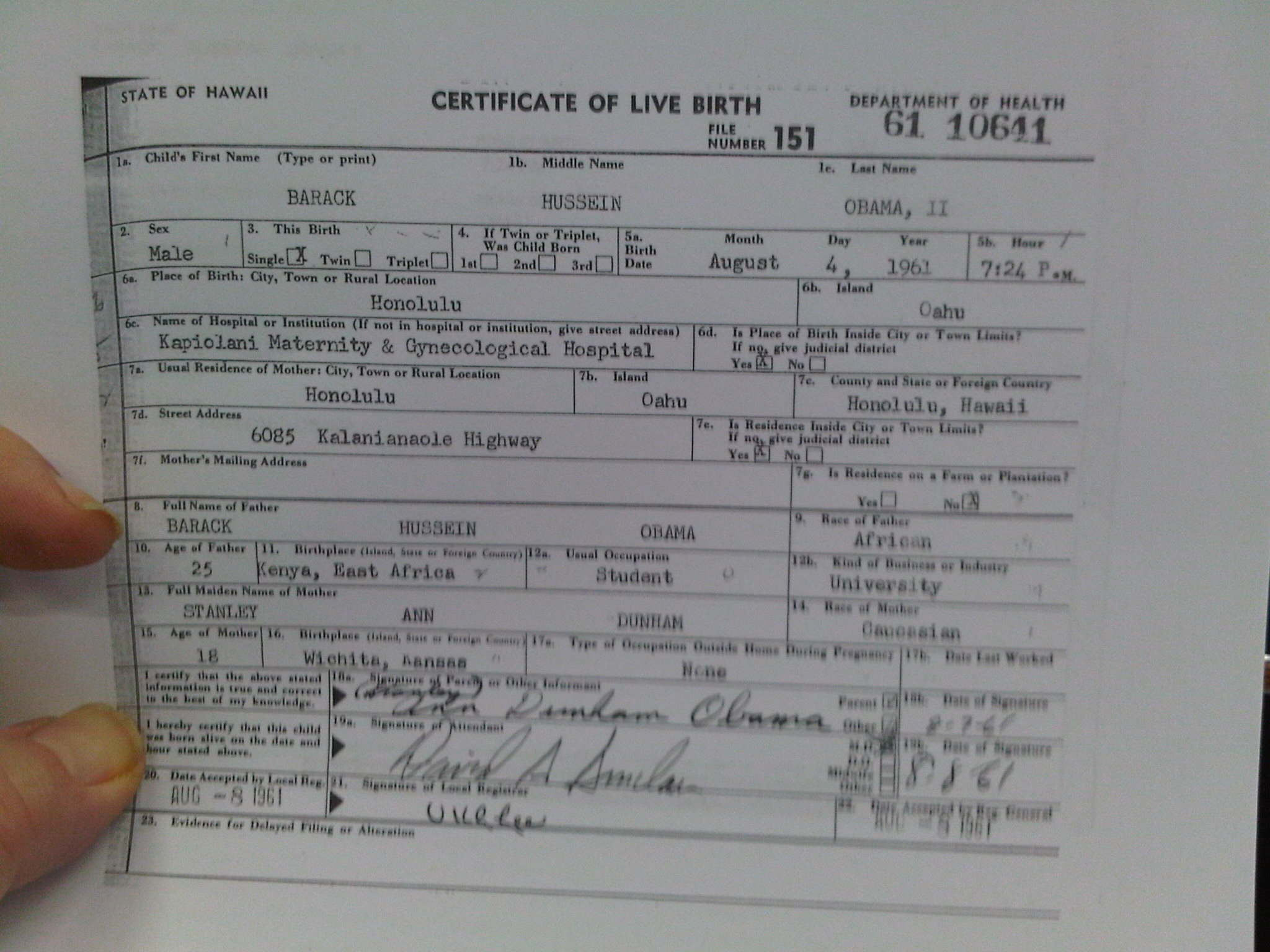 Obama long form birth certificate otb online journal of obama long form birth certificate xflitez Choice Image