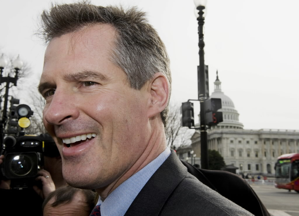 Scott Brown on swearing in day