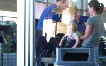 The Latest TSA Outrage: Baby Subject To Pat-Down At Kansas City Airport