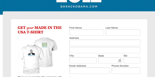 Obama Campaign Selling Birther T-Shirts