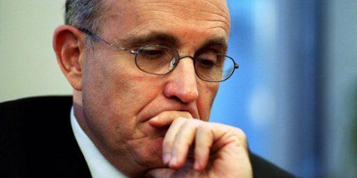Bill Kristol: Rudy Giuliani Is Running For President Again