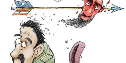 Cartoon: Osama in Pakistan