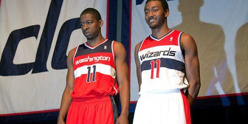 Washington Wizards New Uniforms