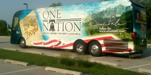 Sarah Palin's Bus Tour: A Campaign Event, Or The Oddest Family Vacation Ever