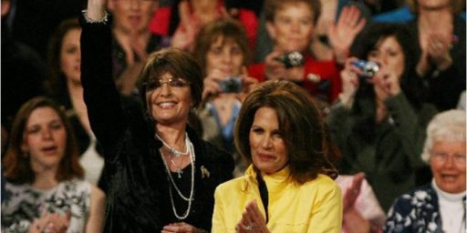 Michele Bachmann: I Won't Mud Wrestle With Sarah Palin