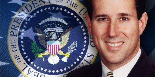 Another Poll Shows Santorum Third In Iowa