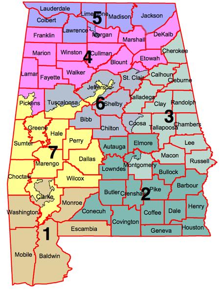 Racial Gerrymandering And Idiots - Georgia us congressional district map