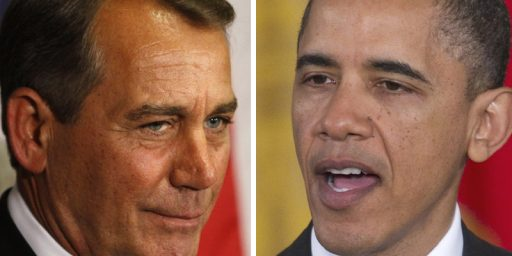 Obama And Boehner To Meet In Golf Summit