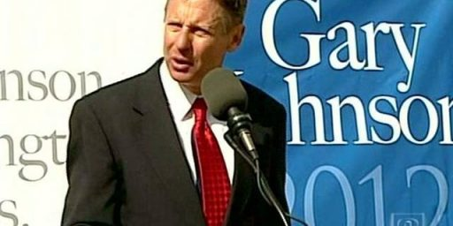 Gary Johnson: Paranoia About Sharia Law Is Ridiculous