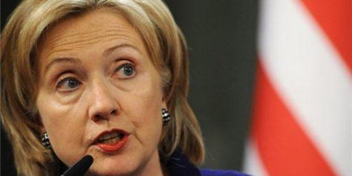 Hillary Clinton Denies Reports She Wants World Bank Presidency