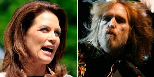Tom Petty: Michele Bachmann Can't Use 'American Girl