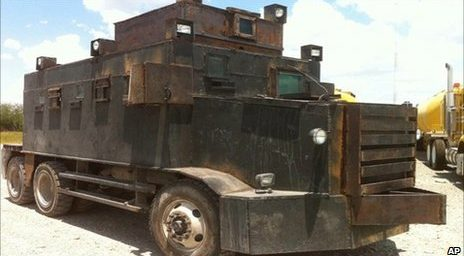 "The Mexican Cartel's ""Narco-Tanks"""