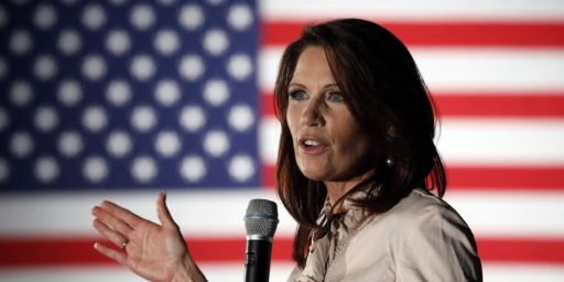 Michele Bachmann Has Missed 37% Of Votes Since Starting POTUS Campaign