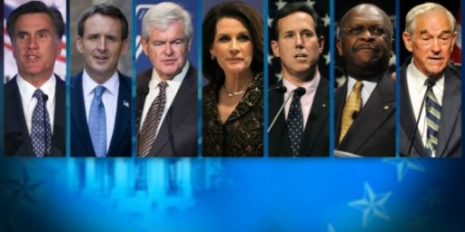 Romney, Bachmann Lead GOP Field, Obama Leads All GOP Candidates