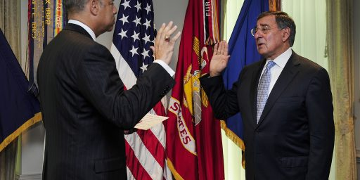 Panetta Sworn In As 23rd Defense Secretary