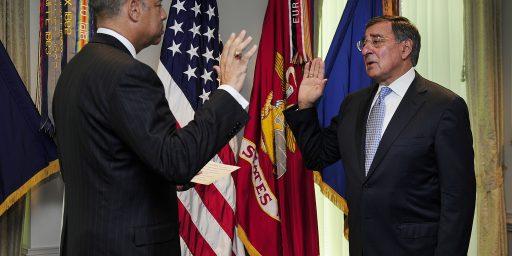 Panetta Sworn In As 23rd Defense Secretary