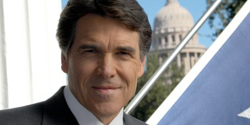 Rick Perry Issues Mea Culpa On Mandatory HPV Vaccine Program