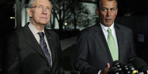 John Boehner And Harry Reid Release Competing, Mostly Incompatible, Debt Plans