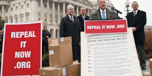 """So Much For """"Repeal And Replace"""""""