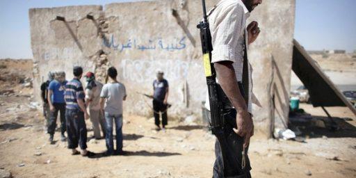 U. S. to Recognize Libyan Rebels