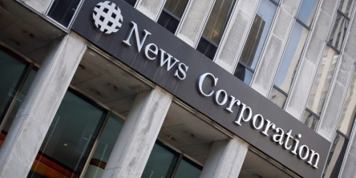 U.S. Reportedly Preparing Subpoeas Directed At News Corp.