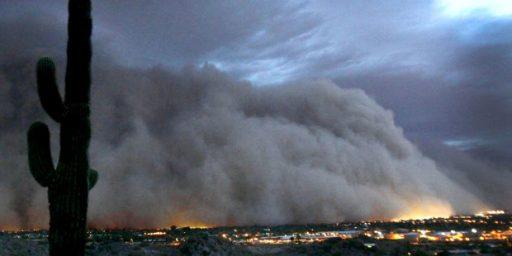 Phoenix Hit By Massive Dust Storm